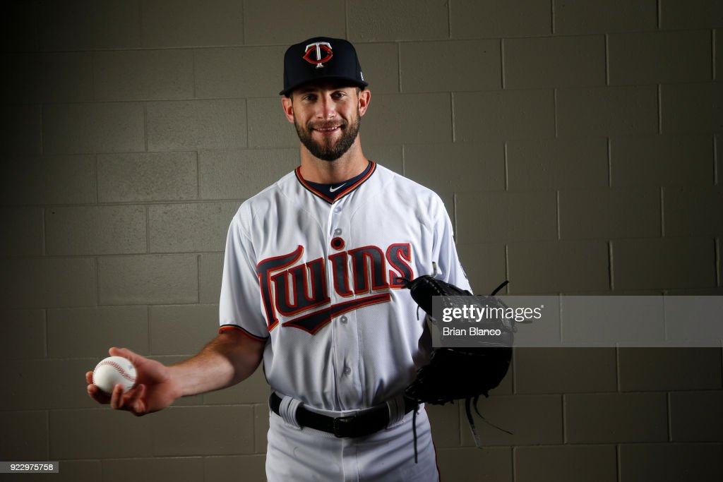 Jake Reed #70 of the Minnesota Twins poses for a portrait on February 21, 2018 at Hammond Field in Ft. Myers, Florida.