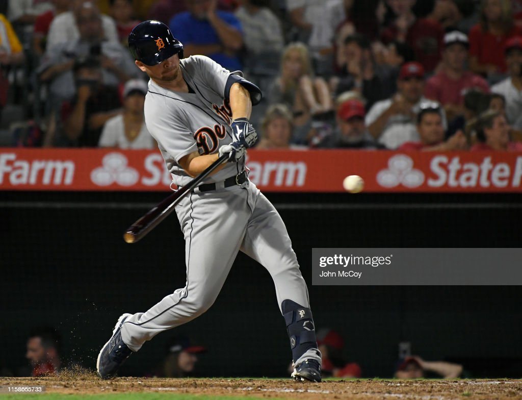 Detroit Tigers v Los Angeles Angels of Anaheim : News Photo