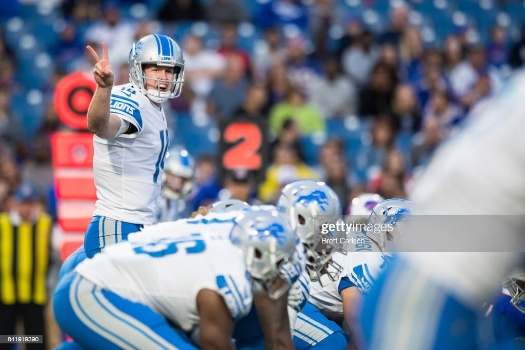 Detroit Lions v Buffalo Bills