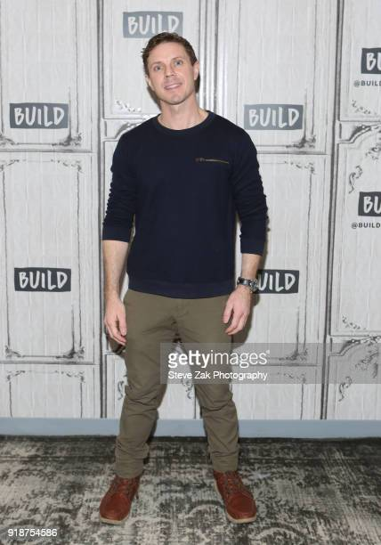 Jake Shears attends Build Series to discuss 'Kinky Boots' at Build Studio on February 15 2018 in New York City