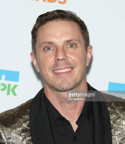 Jake Shears attends the 2019 Hudson River Park Gala at Cipriani South Street on October 17 2019 in New York City