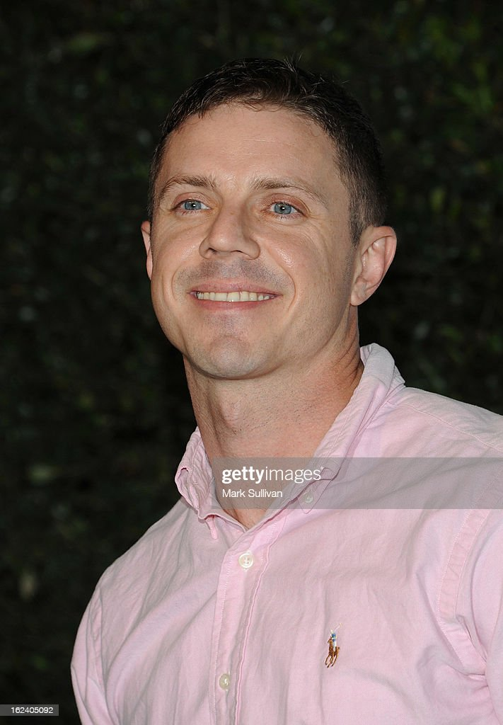 Jake Shears of Scissor Sisters arrives at the LOVEGOLD cocktail party to celebrate 'How To Survive A Plague' at Chateau Marmont on February 22, 2013 in Los Angeles, California.