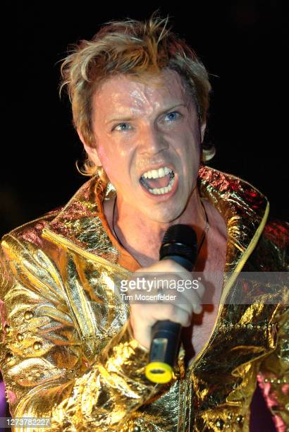 Jake Shears of Scissor Sisters performs during Coachella 2006 at the Empire Polo Fields on April 30, 2006 in Indio, California.