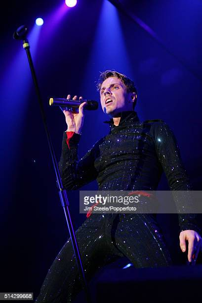 Jake Shears of The Scissor Sisters performing at the Wembley Arena on November 24th 2006 in London, England.