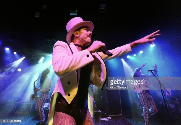 Jake Shears performs on stage at Scala on August 15 2018 in London England