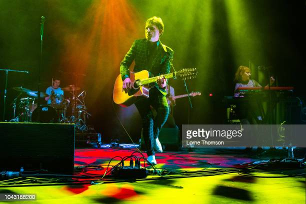 Jake Shillingford of My Life Story performs at Star Shaped Festival at O2 Academy Brixton on September 29, 2018 in London, England.