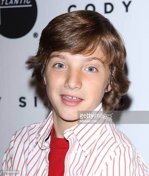 Jake Short arrives at Cody Simpson's album release party for 'Coast to Coast' held at Hard Rock Cafe Hollywood on September 19 2011 in Hollywood...