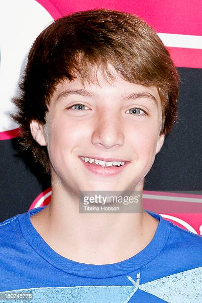 Jake Short attends Radio Disney's 'Back To School Drive' on August 25 2012 in San Pedro California