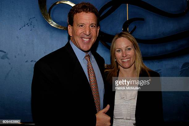 Jake Steinfeld and Tracey Steinfeld attend American Institute for Stuttering Gala Luncheon at Queen Mary 2 Red Hook on June 10, 2007 in Brooklyn, New...