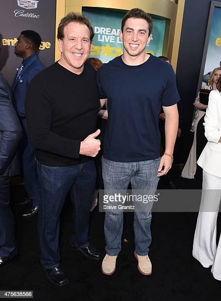 Jake Steinfeld arrives at the Entourage Los Angeles Premiere at Regency Village Theatre on June 1 2015 in Westwood California