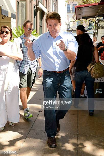 Jake Steinfeld is sighted at The Grove on August 29 2012 in Los Angeles California