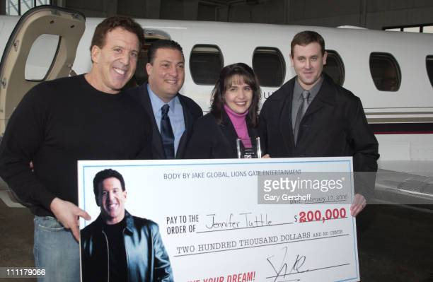 Jake Steinfeld Kenny Dichter CEO and Founder of Marquis Jet Jennifer Tuttle and husband Ray Tuttle