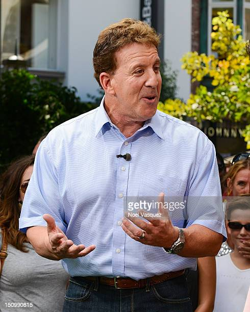 Jake Steinfeld visits Extra at The Grove on August 29 2012 in Los Angeles California
