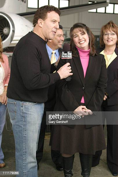 Jake Steinfeld with winner Jennifer Tuttle during Jake Steinfeld's Live Your Dream Contest Finale February 17 2006 at The Westchester County Airport...