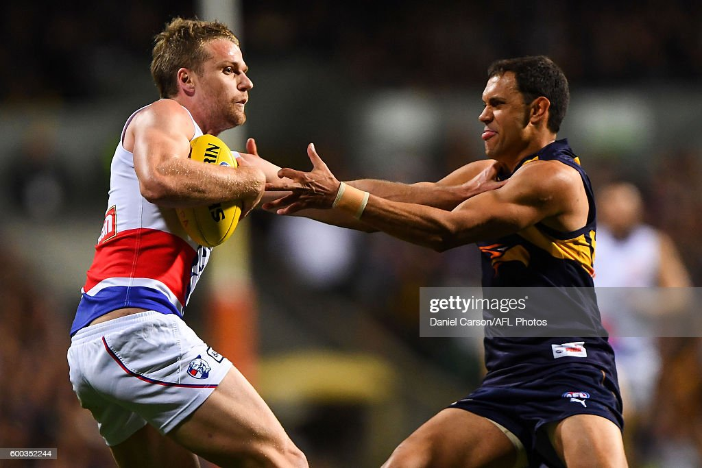 AFL Second Elimination Final - West Coast v Western Bulldogs : ニュース写真