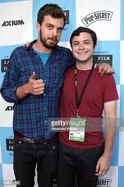 Jake Sumner and Dan Samiljan during 2007 Los Angeles Film Festival Sting and Family Sighting in Westwood California United States