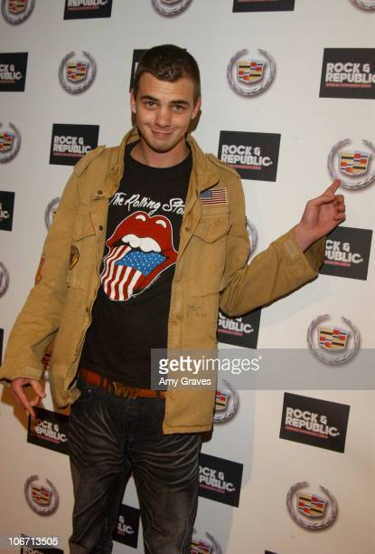 Jake Sumner during 2003 Smashbox Fashion Week Los Angeles House of Field and Rock Republic Arrivals at Smashbox in Culver City California United...