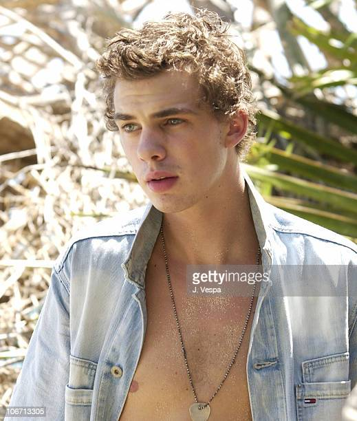 Jake Sumner during Tommy Jeans Photo Shoot in Mustique in Mustique Bahamas