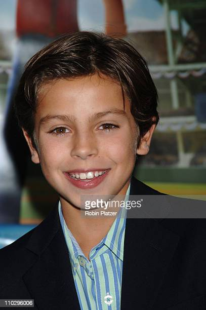 Jake T Austin Actor in movie during Everyone's Hero New York City Premiere Arrivals at AMC Loews Lincoln Square in New York New York United States