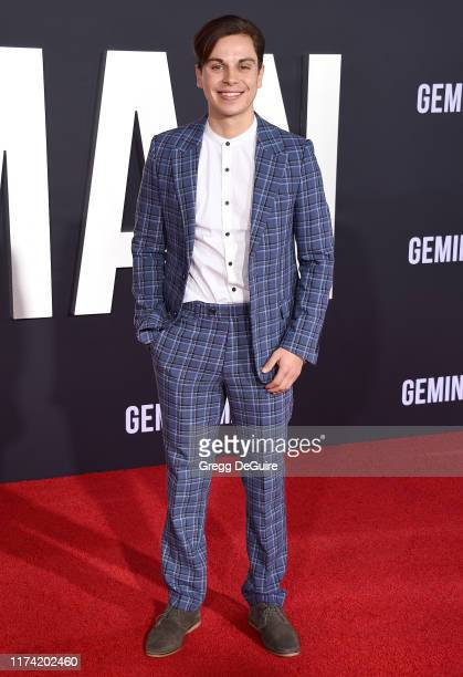 Jake T Austin arrives at Paramount Pictures' Premiere Of Gemini Man on October 6 2019 in Hollywood California