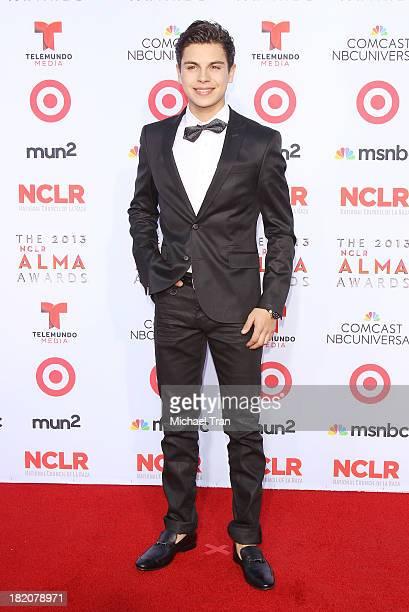 Jake T Austin arrives at the 2013 NCLR ALMA Awards held at Pasadena Civic Auditorium on September 27 2013 in Pasadena California