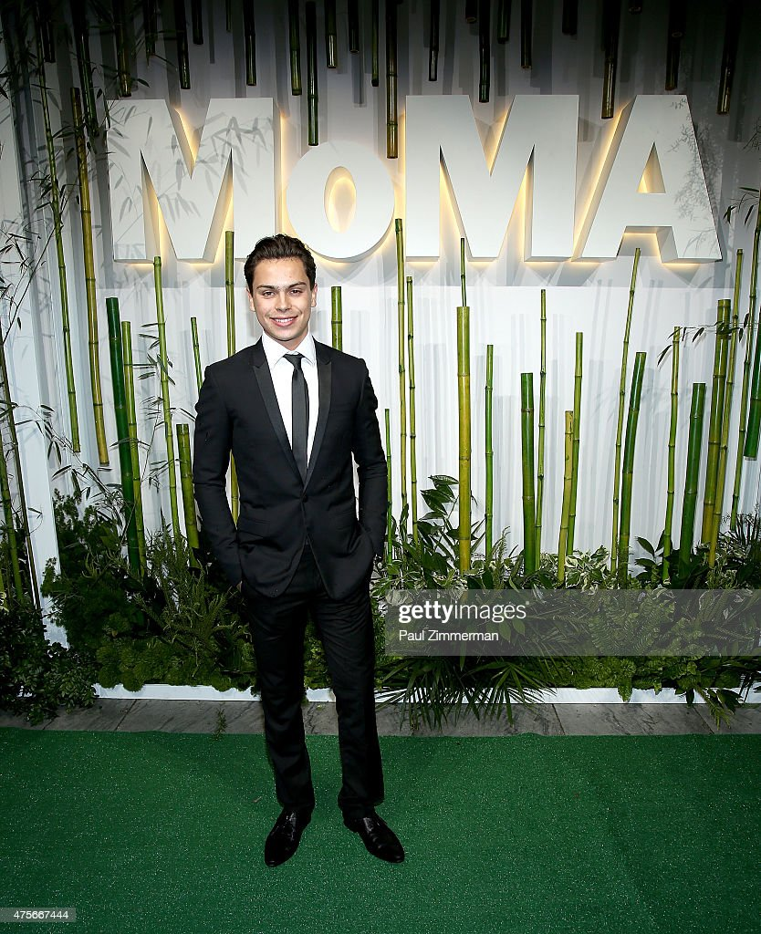 Jake T. Austin attends the 2015 Museum of Modern Art Party In The Garden and special salute to David Rockefeller on his 100th Birthday at Museum of Modern Art on June 2, 2015 in New York City.