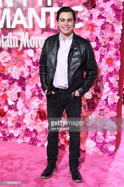 Jake T Austin attends the premiere of Warner Bros Pictures' Isn't It Romantic at The Theatre at Ace Hotel on February 11 2019 in Los Angeles...