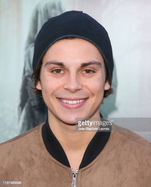 Jake T Austin attends the premiere of Warner Bros' 'The Curse Of La Llorona' at the Egyptian Theatre on April 15 2019 in Hollywood California
