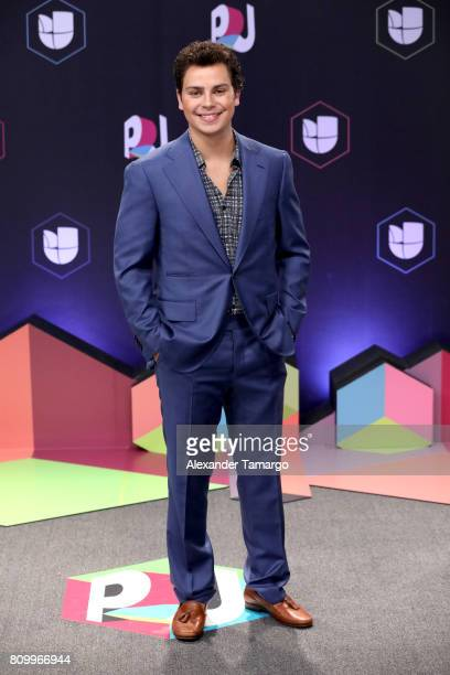 Jake T Austin attends the Univision's 'Premios Juventud' 2017 Celebrates The Hottest Musical Artists And Young Latinos ChangeMakers at Watsco Center...