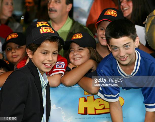 Jake T Austin during Everyone's Hero New York City Premiere Arrivals at AMC Loews Lincoln Square in New York New York United States