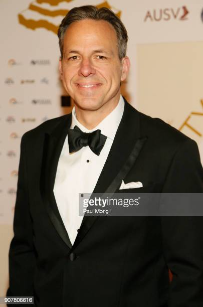 Jake Tapper arrives at the 3rd Annual Vetty Awards at The Mayflower Hotel on January 20 2018 in Washington DC