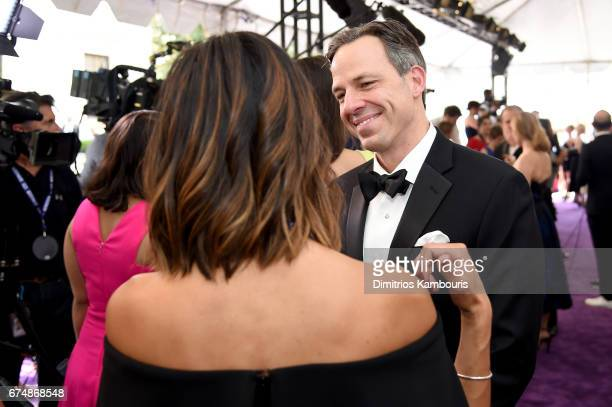 Jake Tapper attends Full Frontal With Samantha Bee's Not The White House Correspondents' Dinner at DAR Constitution Hall on April 29 2017 in...