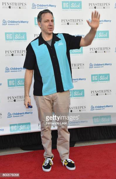 Jake Tapper attends the 2017 Big Slick Celebrity Bowling at Pinstripes during the 2017 Big Slick Weekend on June 24 2017 in Overland Park Kansas