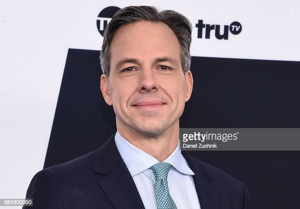 Jake Tapper attends the 2017 Turner Upfront at Madison Square Garden on May 17 2017 in New York City