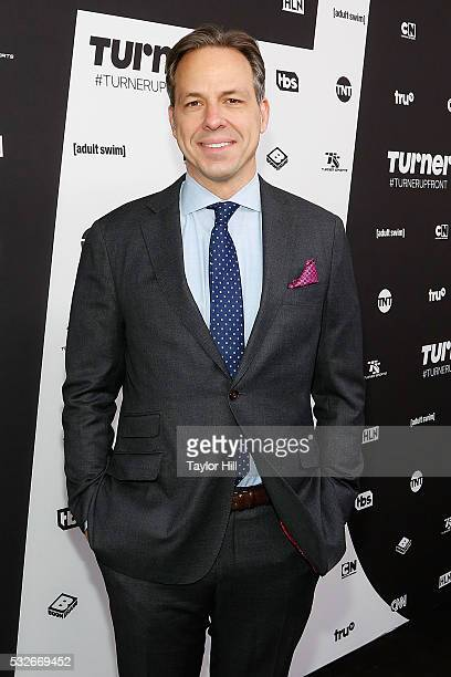 Jake Tapper attends the Turner Upfront 2016 arrivals at The Theater at Madison Square Garden on May 18 2016 in New York City