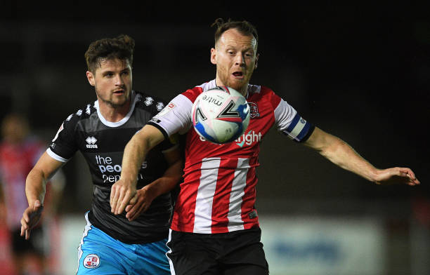 GBR: Exeter City v Crawley Town - Sky Bet League Two