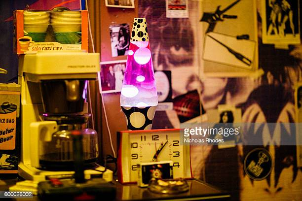 Jake the Janitor bedside lava lamp at Motel No 7