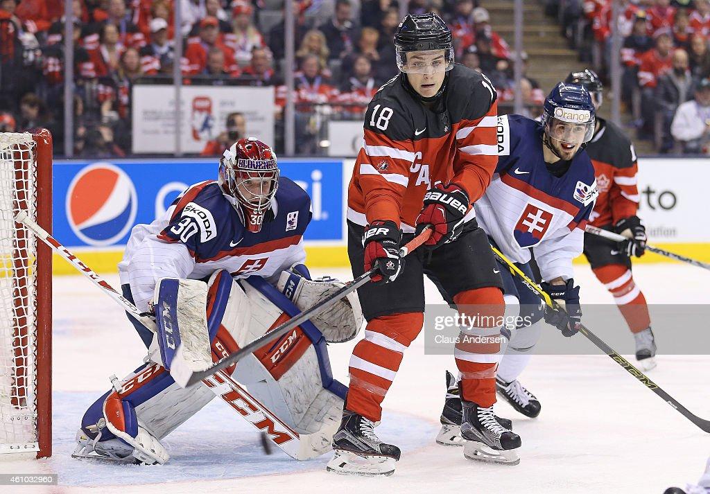 Team Canada v Team Slovakia : News Photo