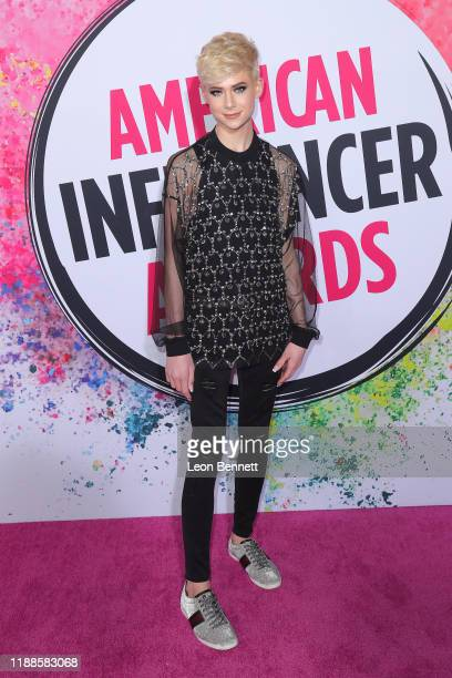 Jake Warden attends 2019 American Influencer Awards at Dolby Theatre on November 18 2019 in Hollywood California
