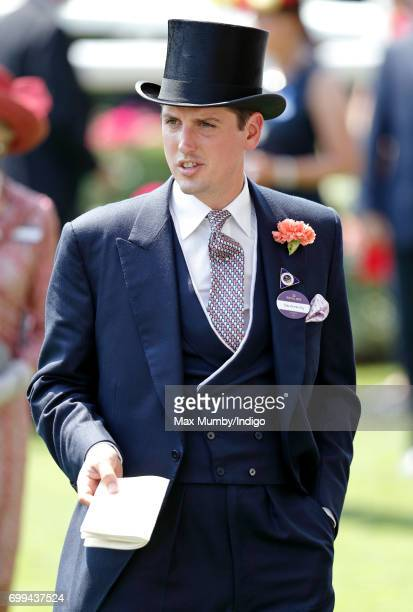 Jake Warren attends day 2 of Royal Ascot at Ascot Racecourse on June 21 2017 in Ascot England