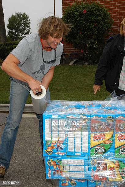 Jake Webber attends Patricia Arquette and Barbara K. Join Relief Spark's efforts to help families affected by Hurricane Katrina at Van Nuys on...