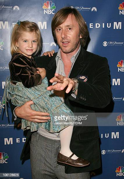 """Jake Weber and Madison Carabello during NBC Hit TV Series """"Medium"""" Soiree - Arrivals at Stephen Cohen Gallery in Los Angeles, California, United..."""