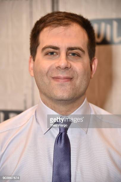 Jake Weisman attends Build Series to discuss the show 'Corporate' at Build Studio on January 11 2018 in New York City