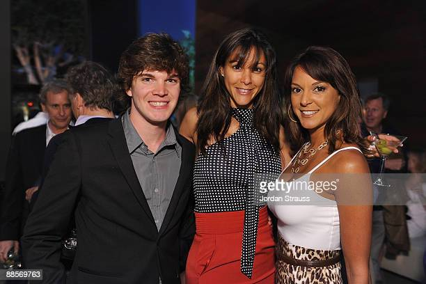 Jake White Nika LaRue and Eva LaRue attend the grand opening of the new BOA Steakhouse on June 17 2009 in West Hollywood California