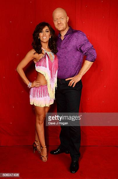Jake Wood and Janette Manrara backstage at the Strictly Come Dancing Live Tour rehearsals Strictly Come Dancing Live Tour opens tomorrow 22nd January...