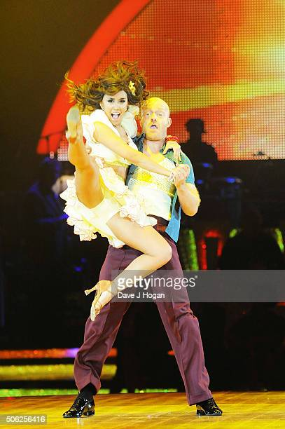 Jake Wood and Janette Manrara perform during the Strictly Come Dancing Live Tour rehearsals Strictly Come Dancing Live Tour opens tomorrow 22nd...