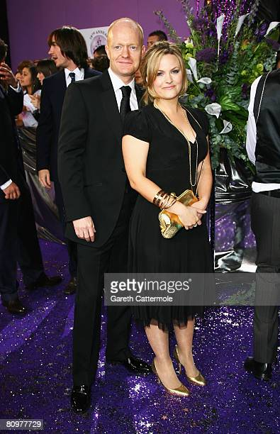 Jake Wood and Jo Joyner arrive for the British Soap Awards 2008 at BBC Television Centre on May 3 2008 in London England