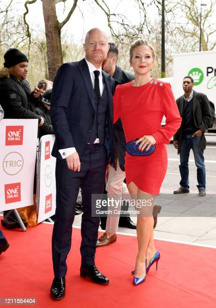 Jake Wood and Kellie Bright attend the TRIC Awards 2020 at The Grosvenor House Hotel on March 10 2020 in London England