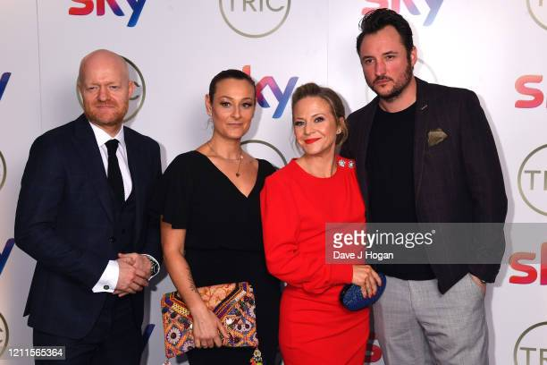 Jake Wood Luisa BradshawWhite Kellie Bright and James Bye attend the TRIC Awards 2020 at The Grosvenor House Hotel on March 10 2020 in London England