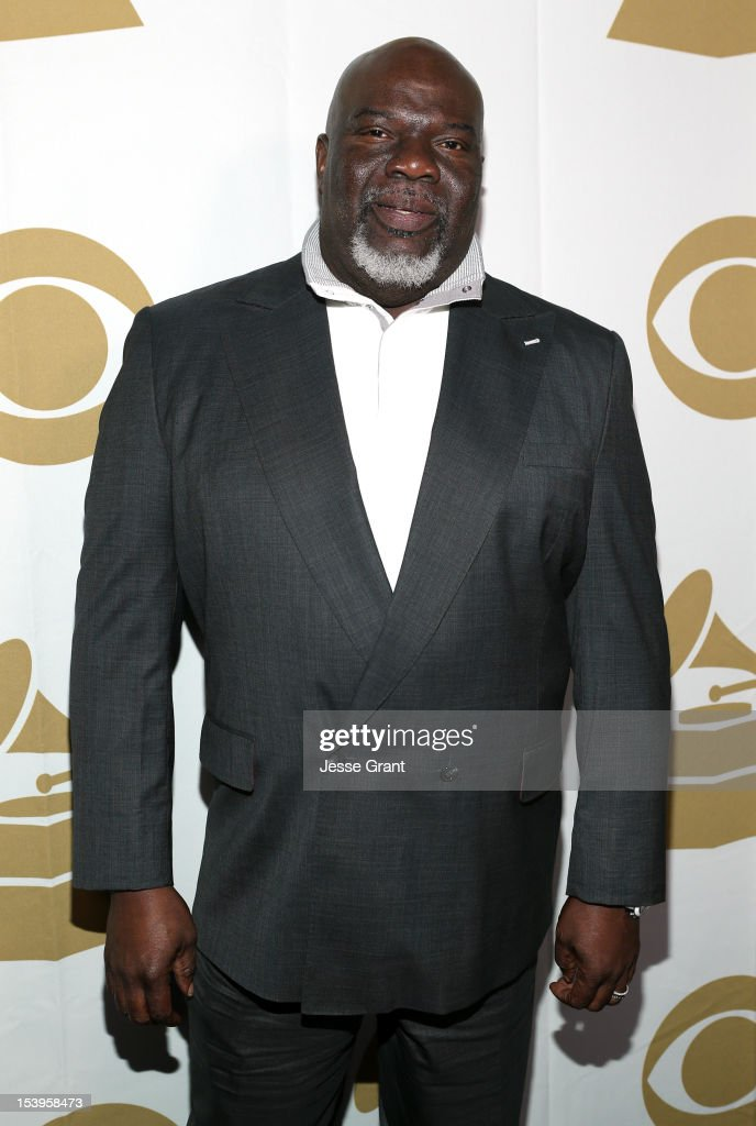 T. D. Jakes attends 'We Will Always Love You: A GRAMMY Salute to Whitney Houston' at Nokia Theatre L.A. Live on October 11, 2012 in Los Angeles, California.